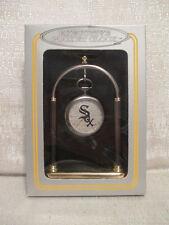 Sun Time Chicago White Sox Executive Sports Pocket Clock MLB Baseball