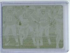 2019 Luminance Printing Plate Yellow Tom Brady 1/1 New England Patriots
