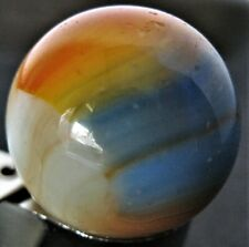 "Vintage Alley Agate Company Multi-color Patch Shooter Marble 63/64"" Diameter"