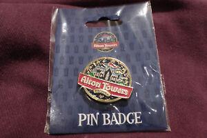 Alton Towers theme park Resort pin badge 2017 Merlin