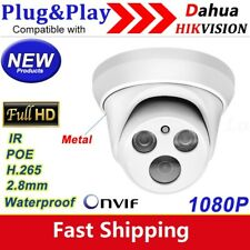 1080P IP camera security HD POE 2.8mm starlight Compatible with HIKVISION DAHUA