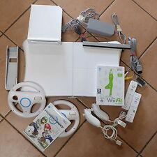 Nintendo Wii Konsole Set mit original Controller und  Mario Kart & Balancebord