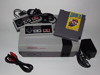 NINTENDO NES SYSTEM CONSOLE WITH GUARANTEE NEW 72 PIN CONNECTOR & SUPER MARIO 3