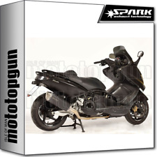 SPARK ESCAPE COMPLETO FORCE KAT ACERO NEGRO YAMAHA T-MAX 500 2010 10 2011 11
