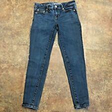 Aeropostale Lola Jegging Size 4 Jeans Short Blue Denim Legging 4S