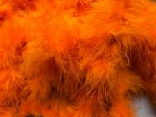 Halloween Orange Special Offer On Marabou Feather Boa 10metres