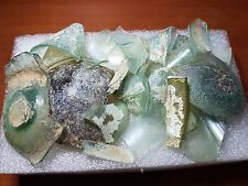 Lot of Roman glass Ancient fragments with beautiful Patina ISRAEL