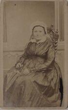 Enard Porrentruy Suisse Femme Photographie Carte de visite Cdv Vintage Albumine