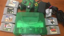 Nintendo 64 Leaf Edition Console with GAMES  nes snes