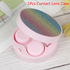 Mini Travel Contact Lens Case Box Container Holder Eye Care Kit Set With Mir Bu