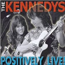 THE KENNEDYS - POSITIVELY LIVE! Brand NEW CD BOXT-424C