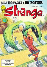 STRANGE N°206 COMME NEUF! DIVISION ALPHA - L' ARAIGNEE - DAREDEVIL (1987)