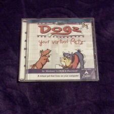 DOGZ YOUR VIRTUAL PETZ PC MAC CD ROM SIM VIDEO GAME DOGS PETS