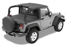 Jeep Wrangler Jk 2 puertas CABECERA Bikini Top Bestop BLACK DIAMOND 07-09