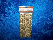 CELEBRATE IT HARVEST BROWN DAMASK CELLO PARTY TREAT BAGS 25 COUNT NEW!!!!!!!!!!!