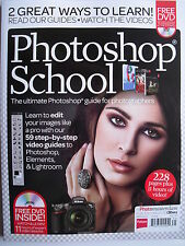 2014  PHOTOSHOP SCHOOL - The Ultimate Guide For Photographers  228 Pages + DVD