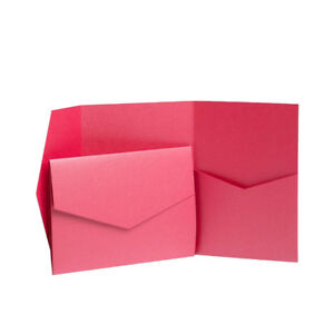 Pocket Invite Kits. Wedding Card Pack. Craft Cards. Wallet Wedding Invites Craft