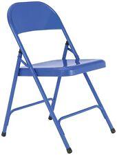 Habitat Macadam Metal Folding Chair - Cobalt