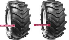 2 New Tires 18 8.50 8 OTR Lawn Trac Lug TR378 R1 18x8.50-8 18x8.50x8 4 ply Sil