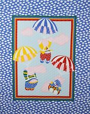 """45"""" PRE-QUILTED FLYING PIGS BABY PANEL"""