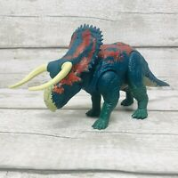Jurassic World Dino Rivals Nasutoceratops Dual Attack Dinosaur Action Figure