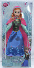 Authentic Disney Store Frozen princess Anna Classic doll, with Free P & P