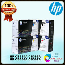 Genuine HP CB384A CB385A CB386A CB387A Full Drum Set CMYK Laserjet 824A