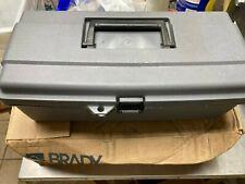 BRADY 65289, Portable Lockout Kit, Electrical/Valve Lockout w/ Tool Box, 1D711