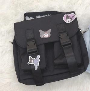 Sanrio Cinnamoroll Kuromi Backpack Schoolbag Handbag Shoulder Bag Lolita