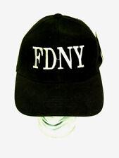 NOS Factory New - FDNY Fire Department of New York Black Baseball Cap Hat