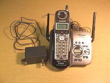 Used Panasonic Cordless Hand Set W/ Answering Machine Kx-Tg5436 Free Shipping