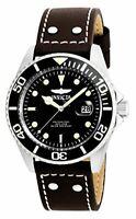 Invicta Mens Pro Diver Analog Quartz Brown Watch