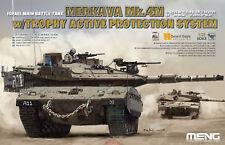 Meng TS-036 Model 1/35 Israel Merkava Mk.4M w/Trophy Active Protection System