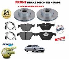 FRONT AXLE BRAKE PADS + DISCS SET for BMW E65 E66 E67 730d 730 735 Li 2001-2008