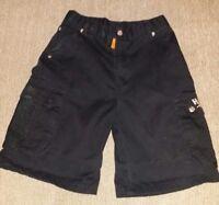 Harley Davidson Cargo Shorts Black Kids Sz 7