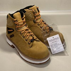 """MEN'S WOLVERINE HELLCAT ULTRASPRING 6"""" CARBONMAX COMPOSITE TOE BOOT WHEAT 9M"""