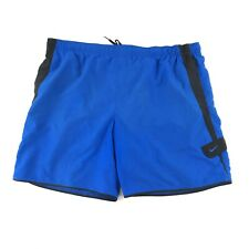 Nike Swim Trunks Men's 3XL XXXL Blue/Black 42 Waist