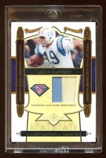 2008 TREASURES LANCE ALWORTH 75TH TEAM GAME PATCH LOGO /25  CHARGERS LEGEND WR !