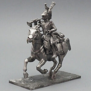 Tin soldier, Trumpeter of the Dragoons of France, Napoleonic Wars, 54 mm