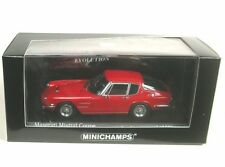 Maserati Mistral Coupe' 1963 Red 1 43 Model Minichamps