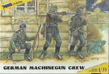 KIT ZVEZDA 1:35 SOLDATINI GERMAN MACHINEGUN CREW     ART 3511