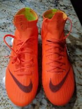 NEW Nike Mercurial Superfly 6 Pro FG ACC Orange Black Soccer Cleats Mens Sz 7.5