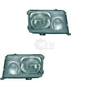 Scheinwerfer Set (rechts & links) Mercedes 200-500 E W124 Bj. 89-93 YQ8