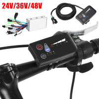 24/36/48V 250W Electric Scooter Bicycle Brushless Controller LED Display Kit