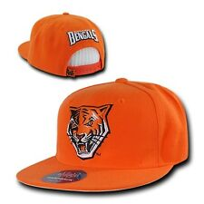 Orange Buffalo State Bengals NCAA Flat Bill Snapback Baseball Ball Cap Hat