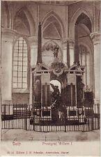 Netherlands Delft - Willem I Praalgraf undivided back unused postcard