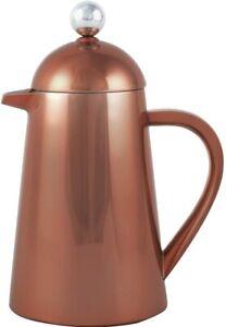 La Cafetiere 3 Cup Thermique Double Walled Copper Cafetiere Coffee Pot - Scratch
