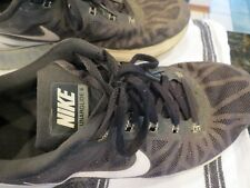 sports shoes c1091 74b10 NIKE MENS  LUNAR GLIDE 6 - BLACK WHITE - SIZE 9