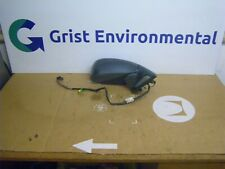 2006 > PEUGEOT 807 O/S DRIVERS SIDE POWER FOLD WING MIRROR IN GREY (E5)
