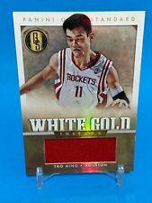 2012-13 GOLD STANDARD YAO MING /99 WHITE GOLD THREADS HOUSTON ROCKETS
